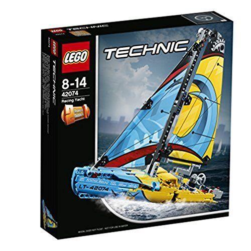 LEGO Technic 42074 - 2 en 1- Barco De competición. De 8 a 14 años
