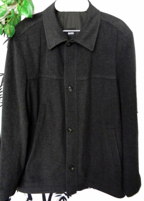 17a813aebf8 Frequently bought together. Hugo Boss Gray Men s Warm Wool Cashmere Jacket  ...