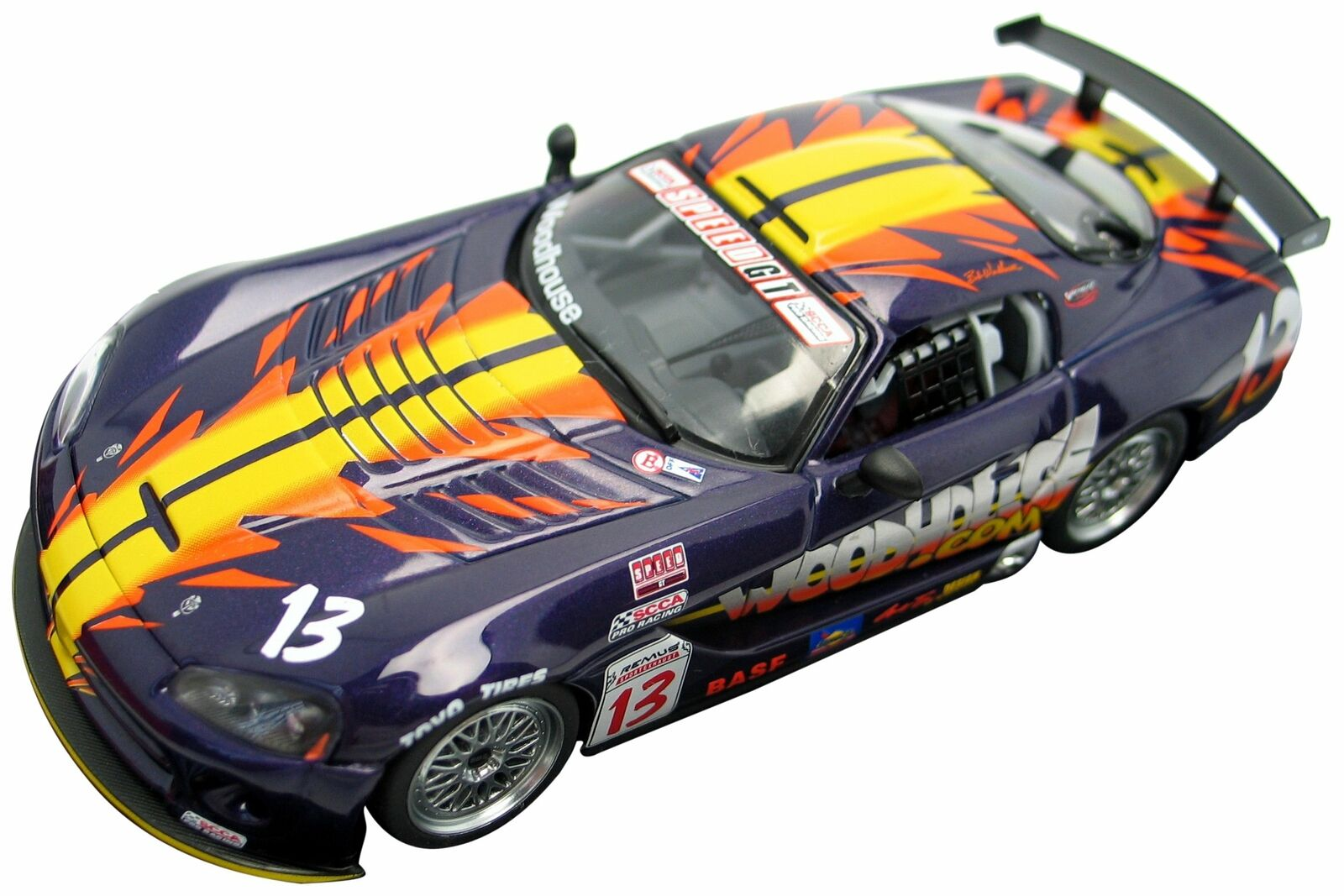Dodge Viper Competition SCCA WC GT 2003 1 43 Diecast Car Model Autoart