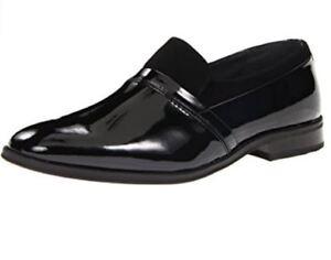 f00098ef119cd Giorgio Brutini Men's Luxore Black Patent Tuxedo Loafers Shoes ...