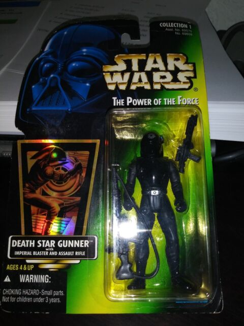 """Star Wars Classic Power of the Force 2 KENNER Imperial Death Star Gunner 3.75/"""" FIGURE"""
