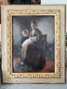 Lammert-Leire-van-der-Tonge-Danish-1871-1937-Signed-Oil