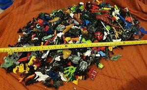 Lego-Bionicles-bionique-Super-Heroes-Ben-10-Chima-joblots-Mixed-4-5-kg-massive