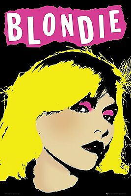 BLONDIE - POP ART - MUSIC POSTER - 24x36 DEBBIE HARRY 5520