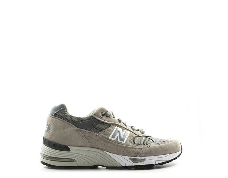 shoes NEW BALANCE men Sneakers trendy  BEIGE Scamosciato,Tessuto M991GLU