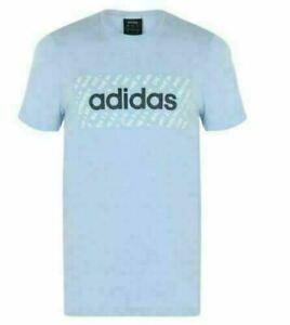 Original-Adidas-Linear-Mens-T-Shirt-Retro-Trefoil-Crew-Neck-Short-Sleeve-Top-Tee