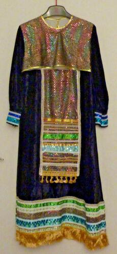Russian Folk Dress Traditional Theater with Kokosh