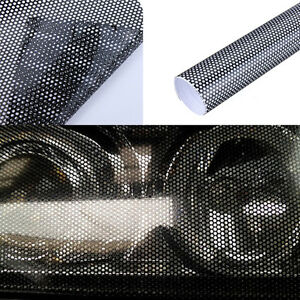 """/""""Adhesive comparable to 3M/"""" PERFORATED HEADLIGHT  MESH TINT MOT LEGAL"""