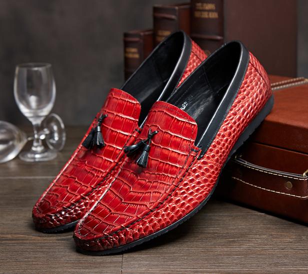 grandi risparmi 18 18 18 Uomo Metal Toe Leather Wing Tip Moccasins Casual Business Dress scarpe New Hot  autentico