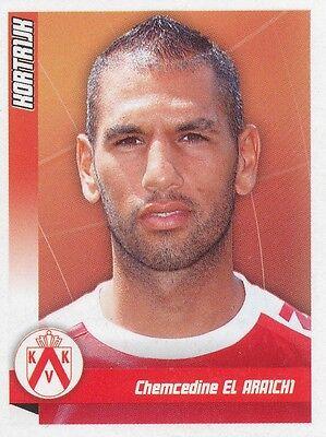 N°234 CHEMCEDINE EL ARAICHI # MAROCCO KV.KORTRIJK STICKER PANINI FOOTBALL 2011