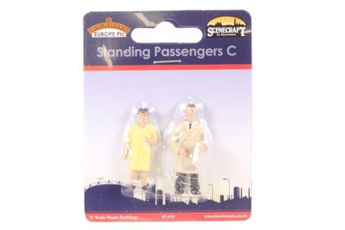 BACHMANN SCENECRAFT 47-410 O SCALE Standing Passengers C
