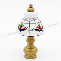 1:12 Wooden Table Lamp Dollhouse Lighting Miniature Lovely Furniture Decor Toys