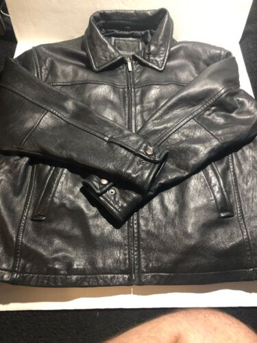 vintage excelled leather jacket Size XL
