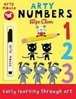 Arty Numbers Wipe Clean by Mandy Stanley (Paperback, 2015)
