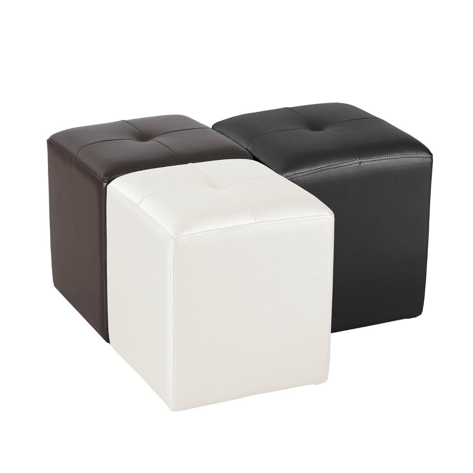 Puff En Banco Dise O Pouf Puf Paf Sof Novedad Blanco Y Nego 3  # Muebles Puffs Baratos