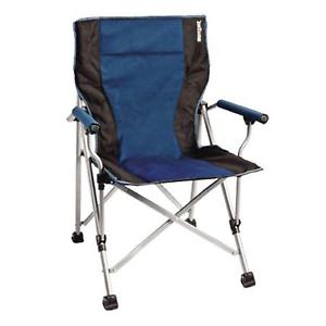 Brunner Raptor Blue//Black Folding Chair Caravan Garden BBQ 0404040N.C05