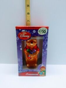 Winnie the Pooh Christmas Ornament Disney New In Box