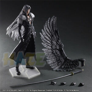 Spielen-Sie-Kunst-Kai-Final-Fantasy-VII-Sephiroth-10-034-PVC-Figur-Spielzeug-In-Box