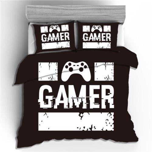 Bettwäsche Gamepad Game Player Bettbezug Kissenbezug Kinder 2 teilings 135X200cm