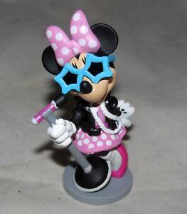 Disney-Movie-Pop-Star-Singer-Minnie-Mouse-Figure-Figurine-Birthday-Cake-Topper