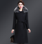 Womens-Warm-Wool-Trench-Long-Coat-Parka-Faux-Fur-Collar-Winter-Jacket-Overcoat thumbnail 5