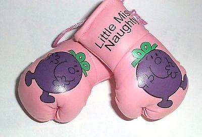 Beliebte Marke Little Miss Naughty Mini Boxing Handschuhe Sport Hängen Off A Buggy/wagen