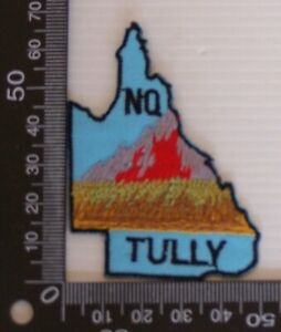 VINTAGE-TULLY-NTH-QUEENSLAND-EMBROIDERED-SOUVENIR-PATCH-WOVEN-CLOTH-SEW-ON-BADGE