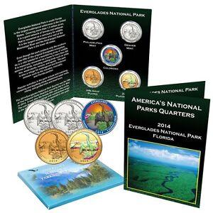 2014 S NP ATB Everglades Silver Quarter PCGS Graded PR69 DCAM Proof  25 C B3