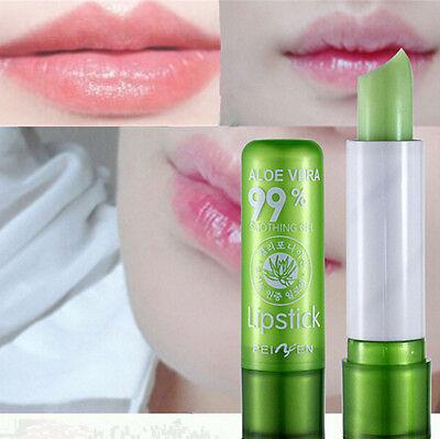 Popular Waterproof Magic Aloe Smell Changeable Color Lipstick Lip Cream 6SAC