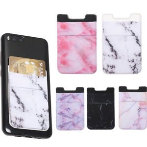Elastic-Fashion-Adhesive-Sticker-Cellphone-Pocket-Phone-Card-Holder-Wallet-Case
