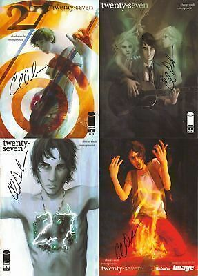 signed variant 27 #1 2nd print image comic book CHARLES SOULE 27 club MUSIC