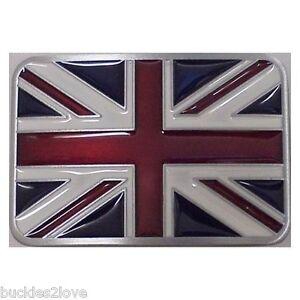 3D-Emaille-Britische-Flagge-England-UK-Guertelschnalle-Grossbritannien