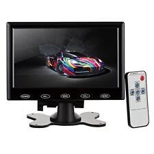 7 inch HD HDMI LCD Display Screen Monitor Black With VGA / HDMI / AV / Audio
