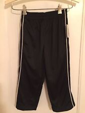 STARTING POINT KIDS SIZE 4 BLACK/WHITE ACTIVE TRACK PANTS NEW!! CC177