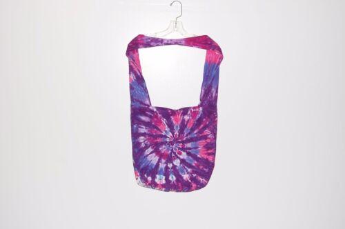 Кислотная наплечная сумка розовый//фиолетовый спираль богемное фестиваль сумка Grateful Dead Тай умереть