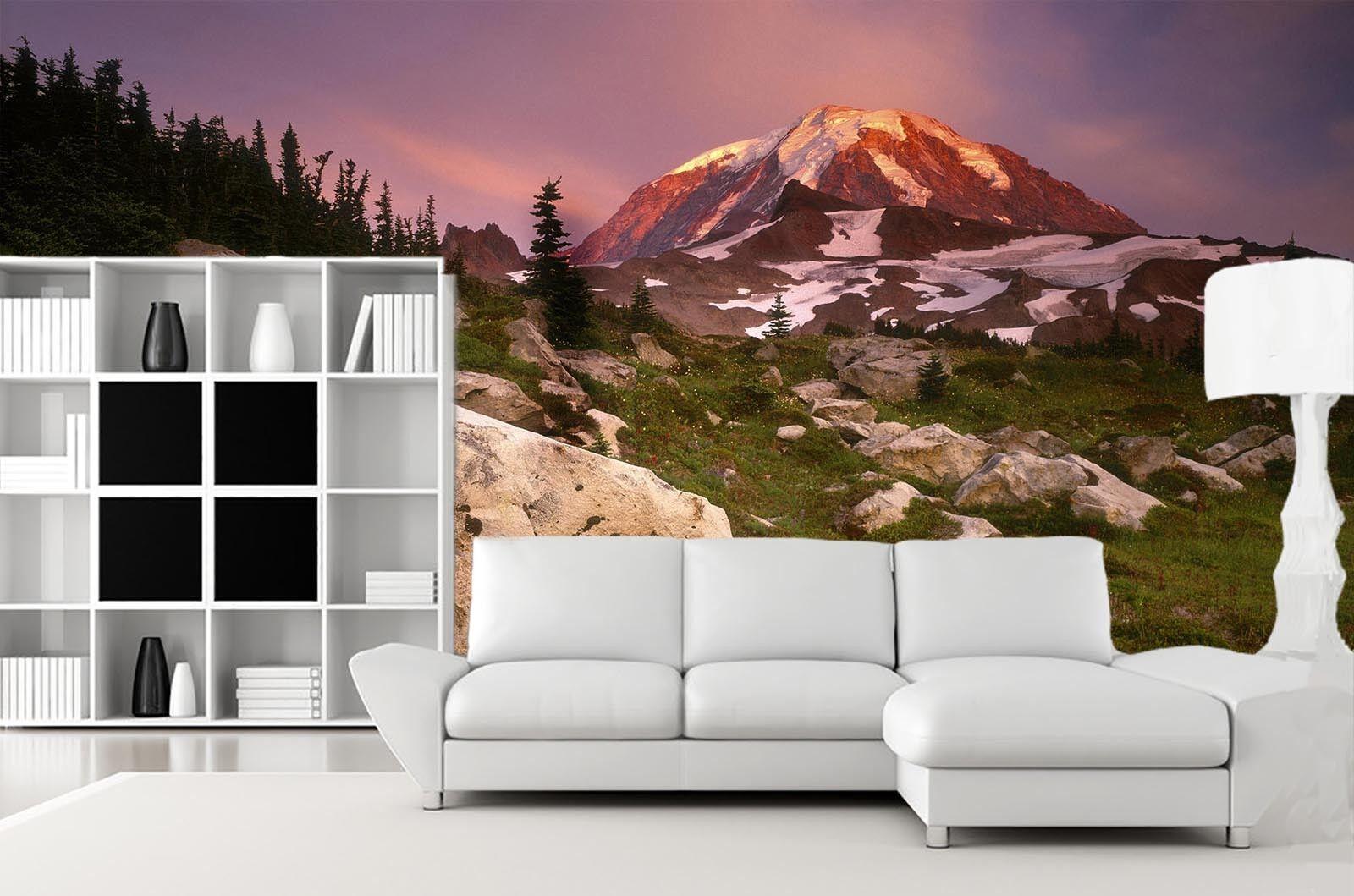 3D Stein Berg Dschungel 843 Tapete Wandgemälde Tapete Tapeten Bild Familie DE