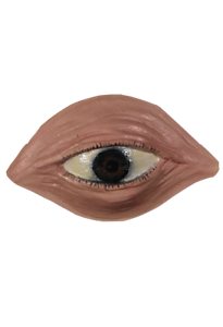 """/""""The Twilight Zone/"""" Licensed Martian Eye Latex Appliance Costume Disguise"""