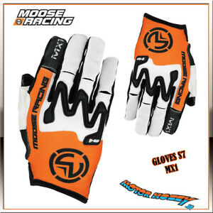 GUANTO-CROSS-ENDURO-MOOSE-RACING-GLOVE-S7-MX1-ARANCIO-BIANCO-ARANCIO-TAGLIA-XL