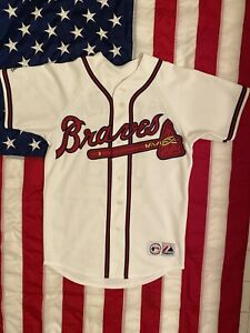 MLB-Atlanta-Braves-Brian-McCann-Baseball-Jersey-Men-Size-M