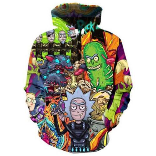 Fashion 3DPrint cartoon Pullover Hoodie Women Men Casual Sweatshirt S~5XL