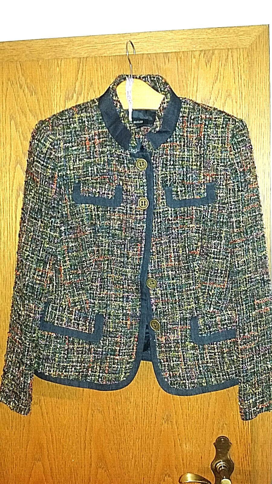 Basler Damen Jacke Tweed Blazer Größe 40