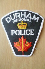 Patches: DURHAM REGIONAL CANADA POLICE PATCH (NEW*, apx.10.5x10)