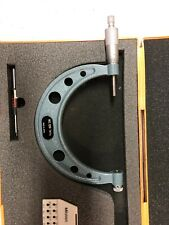 Mitutoyo Thread Micrometer 126 141a 4 To 5 No Anvils With Standard