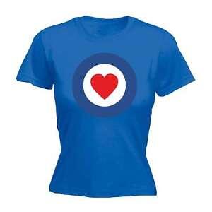 Image Is Loading Womens Funny T Shirt Target Heart Love Boyfriend