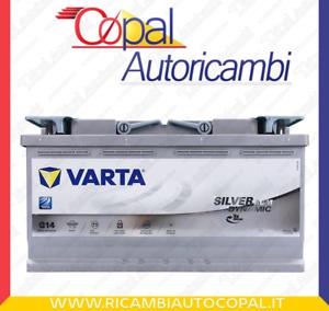 Batteria-auto-VARTA-AGM-G14-95AH-850-L5-595901085-Start-Stop-Battery-12v-Silver