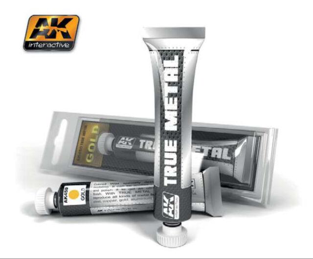 AK00450 - AK Interactive - True Metal Paints - Gold