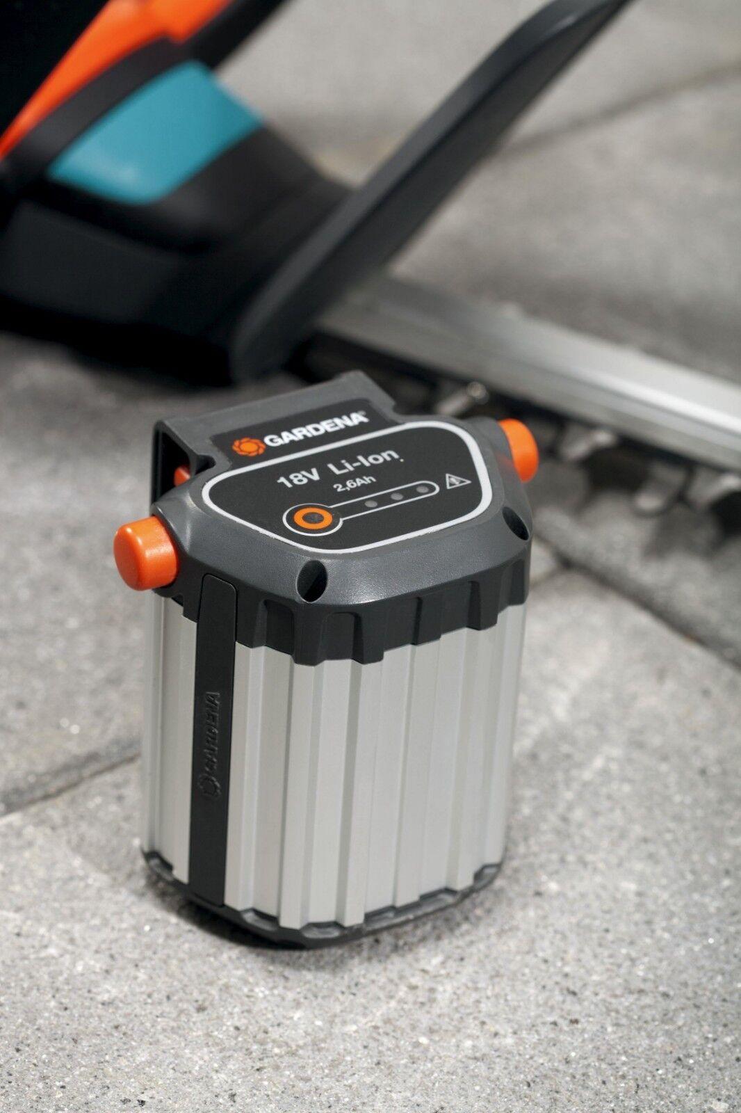 Gardena sistema batería de ion-litio celdas accu bli-18 para baumscheren