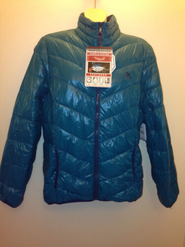 aquashell tar $180 ZeroXposur women/'s extra light down coat jacket black