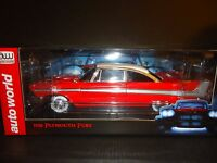 Auto World Plymouth Fury 1958 Christine Night Time Version 1/18
