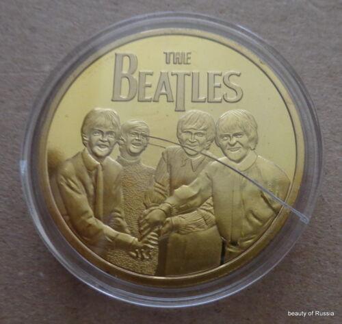 The Beatles 24KT GOLD MEMORABILIA COLLECTIBLE COIN #36se